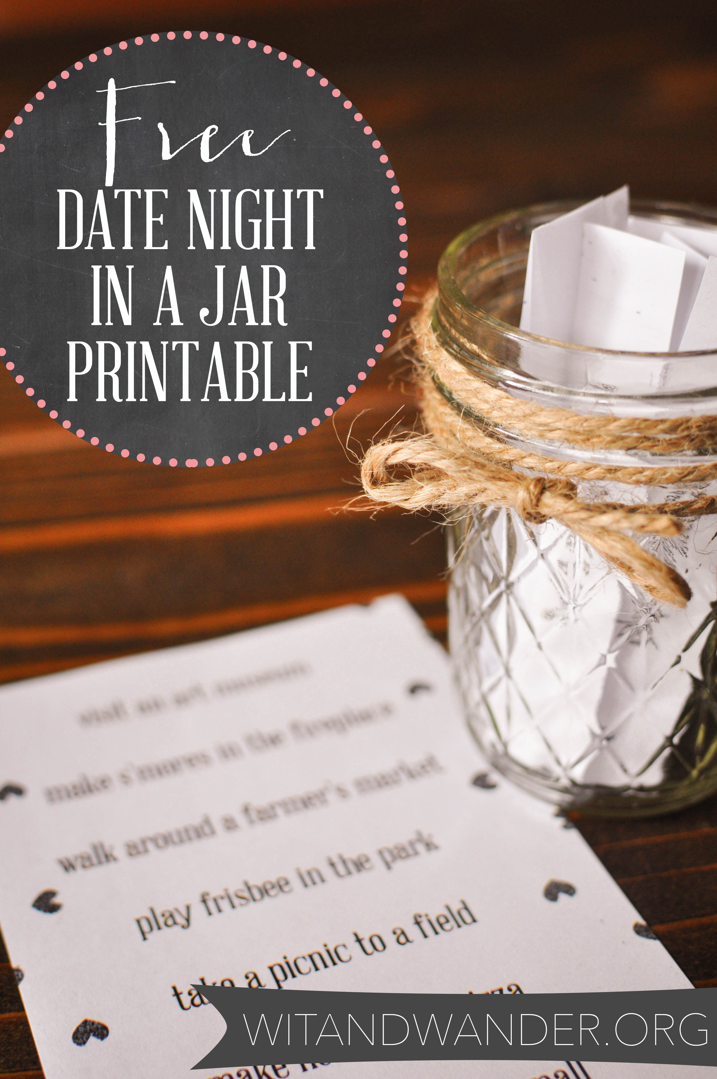 Date Night in a Jar Printable 4 - Wit and Wander