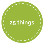 25 Things for My 25th