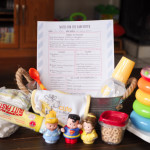 DIY Babysitter's Box {Plus Free Printable Babysitter's Notes!}