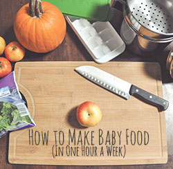 How to Make Baby Food - Wit & Wander