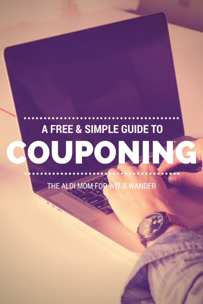 Wit & Wander Couponing from The Aldi Mom