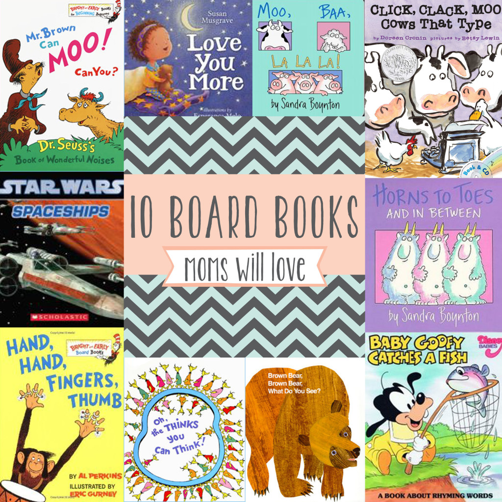 Top 10 Board Books - Wit & Wander