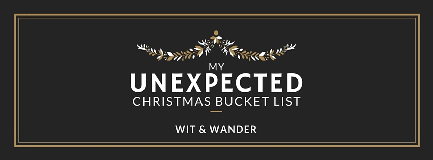 Christmas Bucket List Cover - Wit & Wander`
