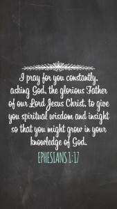 Free Scripture iPhone Wallpaper - Wit & Wander