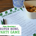 Free Printable Super Bowl Party Game
