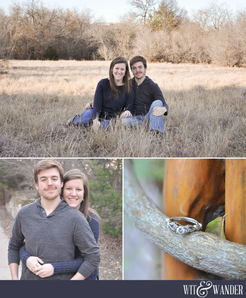 Carrollton Texas Engagement Photography - Wit & Wander