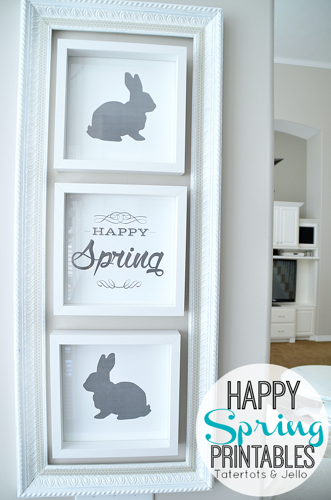 Free Printable Easter - Happy Spring - Wit & Wander