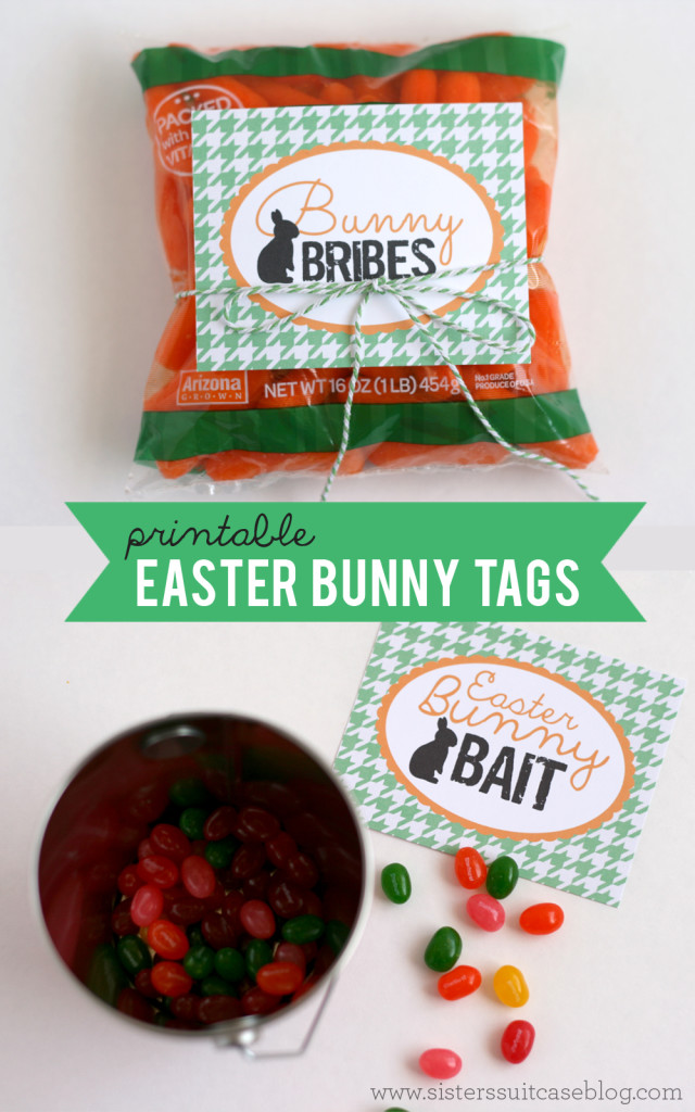 Free Printable Easter - Bunny Bribes - Wit & Wander