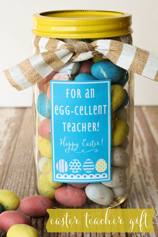 Free Printable Easter - Gift Jar - Wit & Wander
