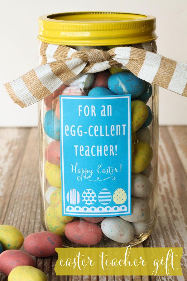 Free Printable Easter - Gift Jar - Wit & Wander
