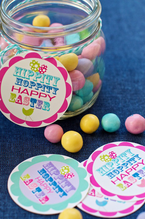 Free Printable Easter Gift Tags - Wit & Wander