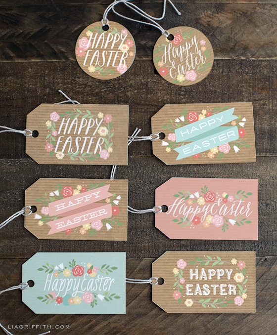 Free Printable Easter - Gift Tags - Wit & Wander