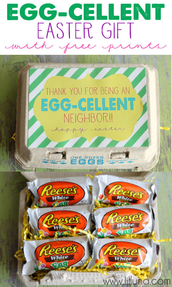 Free Printable Easter - DIY Neighbor Gift - Wit & Wander
