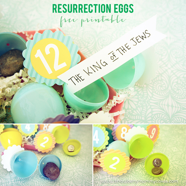Free Printable Easter - Resurrection Eggs - Wit & Wander