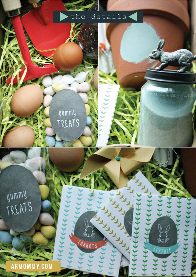 Free Printable Easter - Seed Packets - Wit & Wander