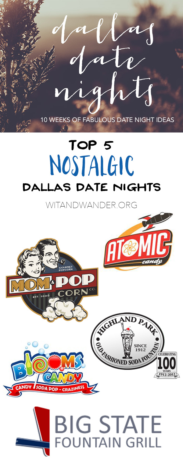 Blast from the Past - Dallas Date Nights - Wit & Wander Pinterest
