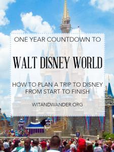 Disney World Countdown 2 Month Planning Update All