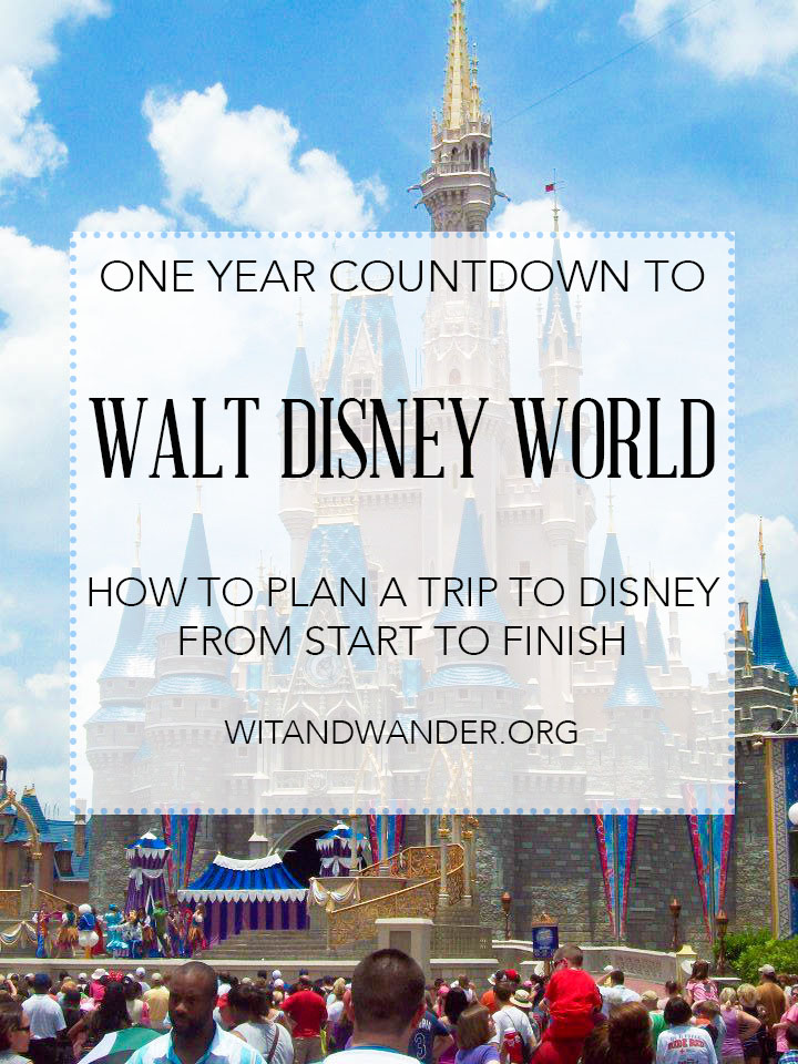 Free Printable Walt Disney World Daily Planner Our Handcrafted Life