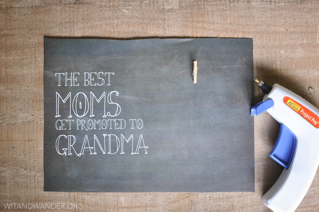 Wit & Wander DIY Moms Get Promoted to Grandma 5