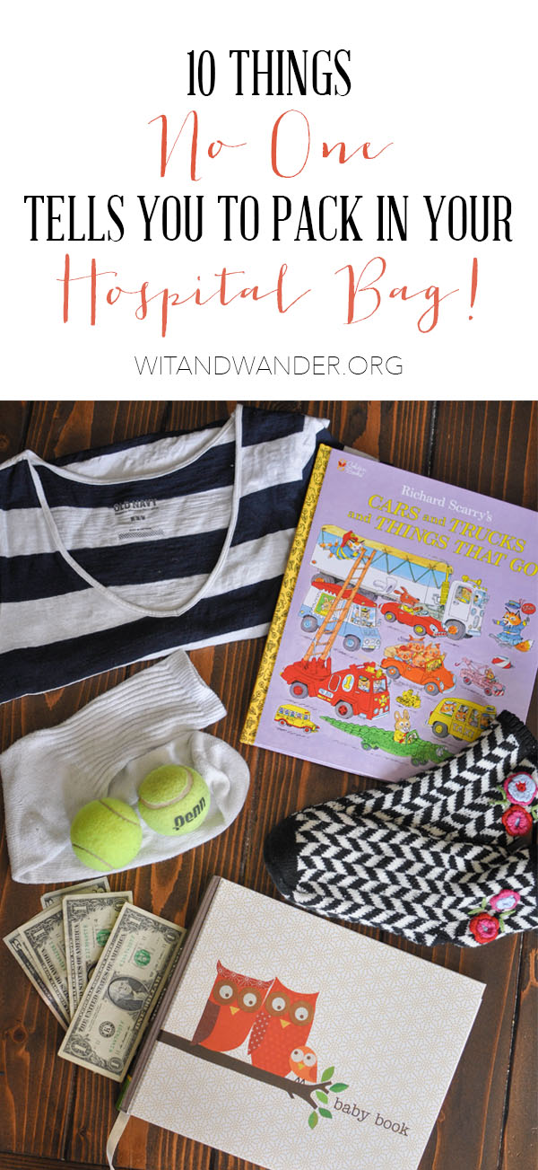 Labor + Delivery Hospital Bag Checklist | Wit & Wander