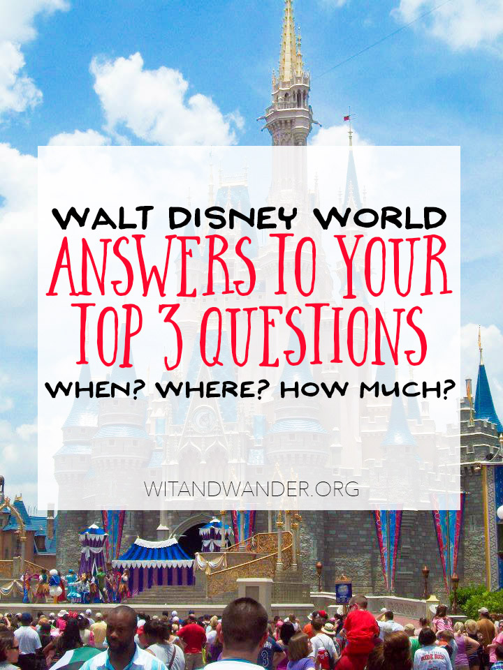 Top Disney Vacation Planning Questions Answered | Wit & Wander