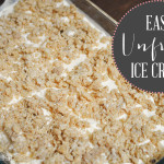 "Easy ""Unfried"" Ice Cream Dessert"