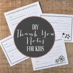 Fill-in-the-Blank Thank You Notes for Kids