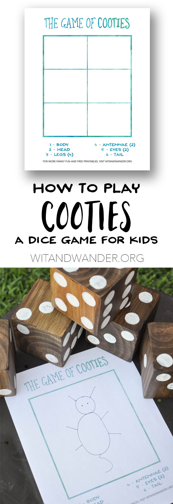 Cooties Game Pinterest - Wit & Wander copy