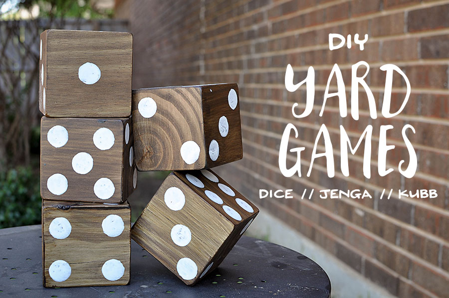DIY Yard Games - Megan Harney for Dallas Moms Blog Header