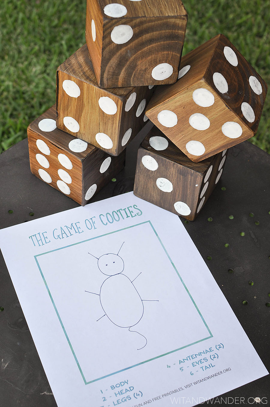 DIY Yard Games - Wit & Wander 1