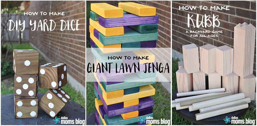 DIY Yard Games - Wit & Wander + Dallas Moms Blog