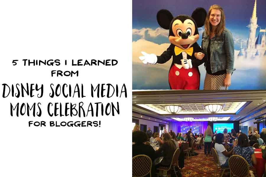Disney Social Media Moms Celebration for Bloggers - Header