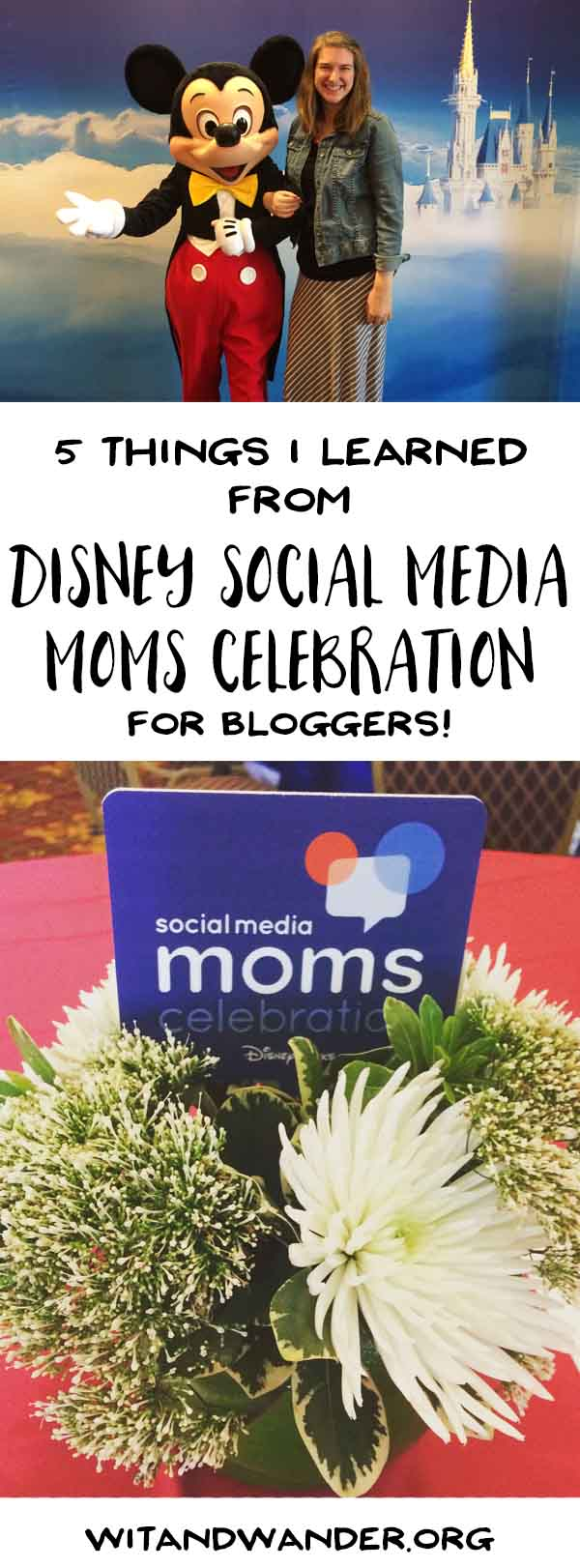 Disney Social Media Moms Celebration for Bloggers - Pinterest