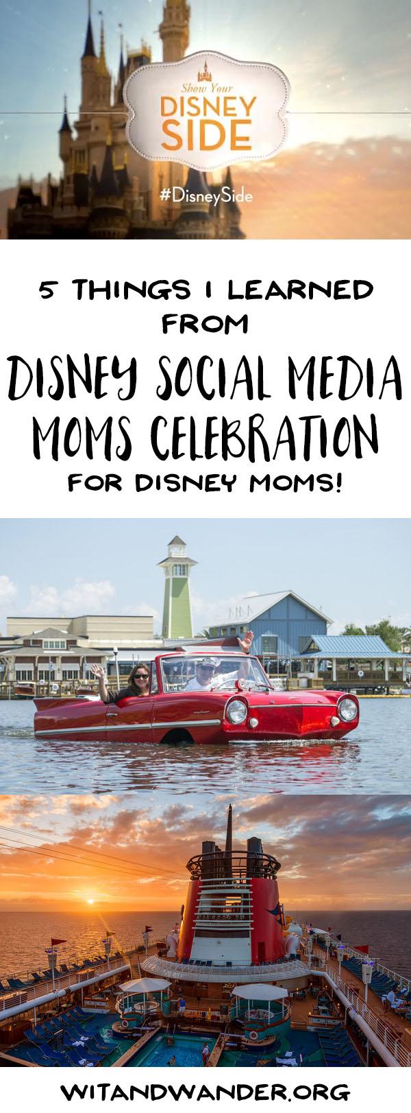Disney Social Media Moms Celebration for Disney Moms - Pinterest
