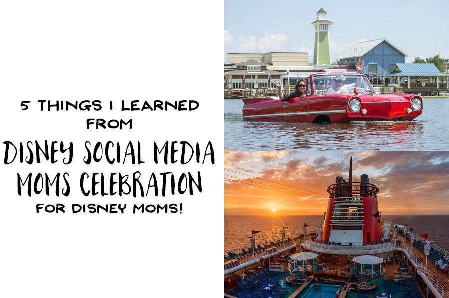 Disney Social Media Moms Celebration for Disney Moms - Header