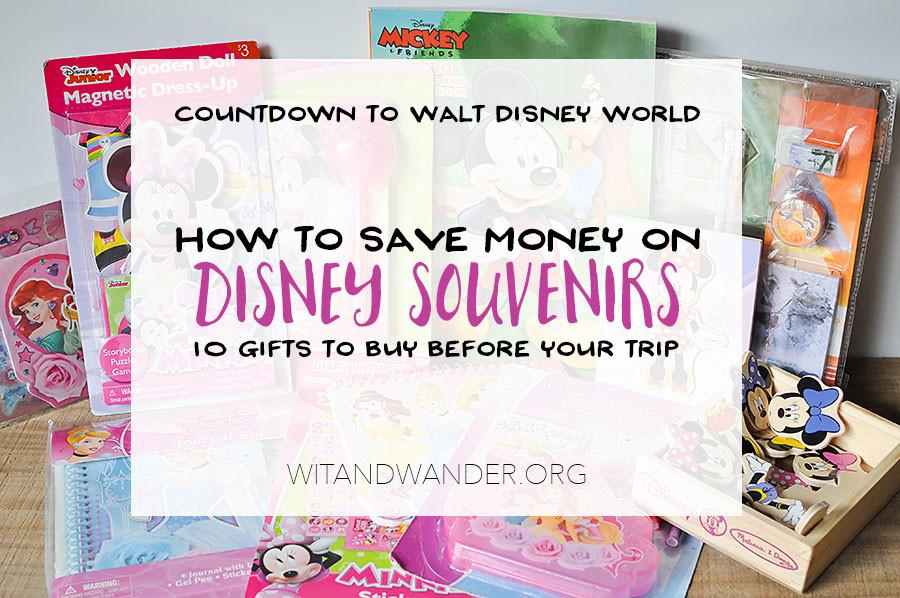 Disney World Countdown - Tinker Bell Gift Ideas | Wit & Wander Header