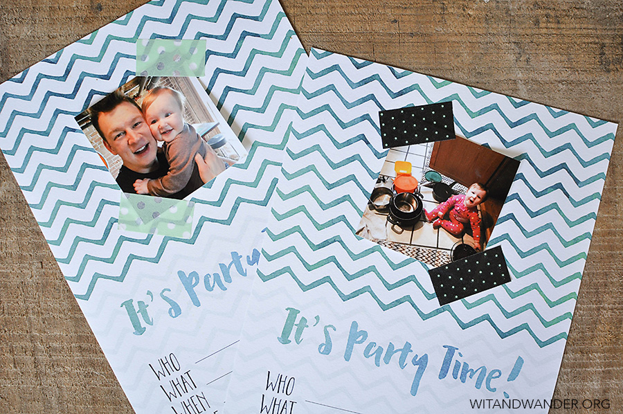 Free Printable DIY Instagram Party Invitations | Wit & Wander 1