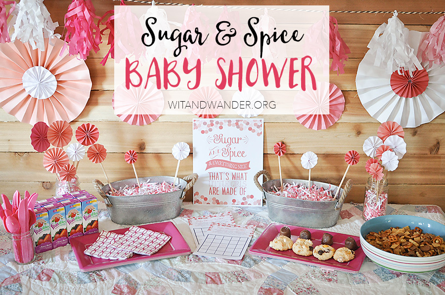 Sugar & Spice Baby Shower Party | Wit & Wander 6