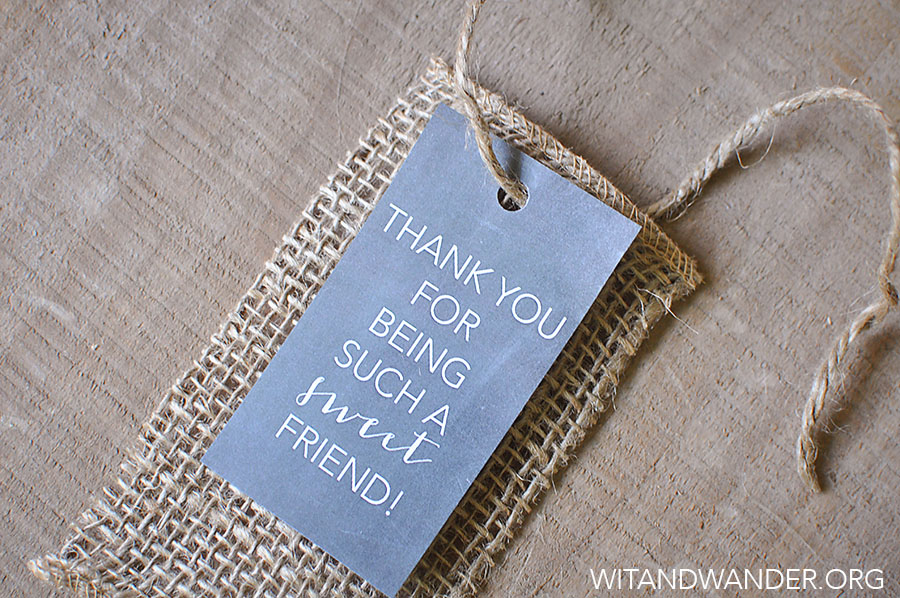 Sweet Friend Gift Tags | Wit & Wander 13