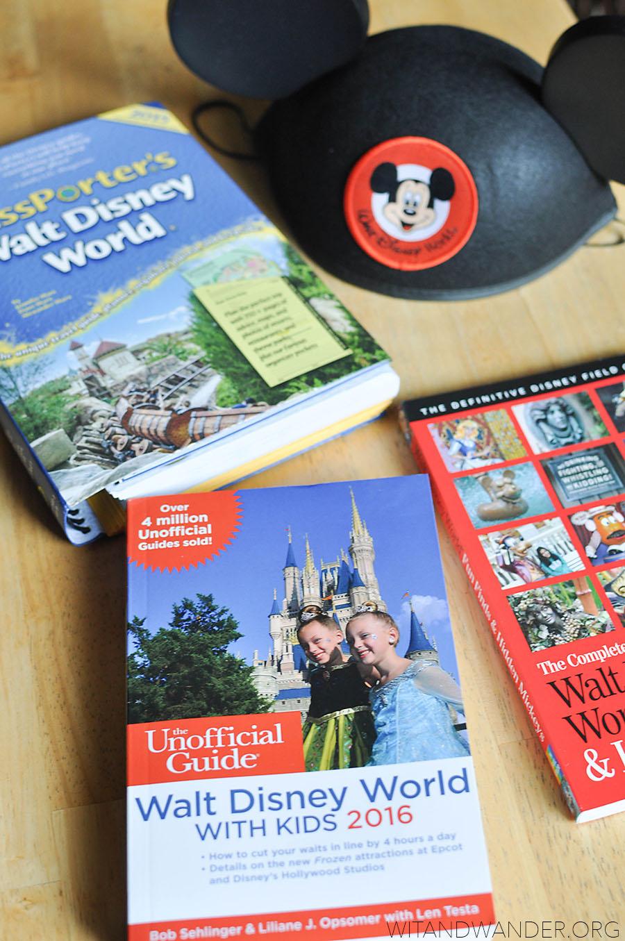 The Best Top 5 Walt Disney World Planning Books | Wit & Wander