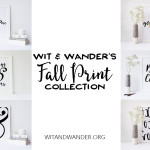 Fall Print Collection | Wit & Wander Header