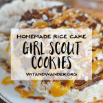 Rice Cake Samoa Girl Scout Cookie Inspired Rice Cake Samoas with Nutella, Chocolate, Caramel, and Coconut | Wit & Wander