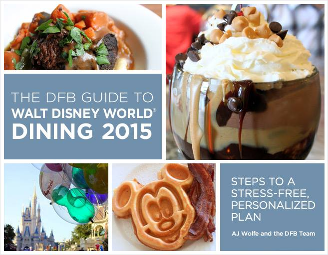 Best Disney World Planning Books 2016 - Disney Food Blog Guide to Walt Disney World Dining | Wit & Wander