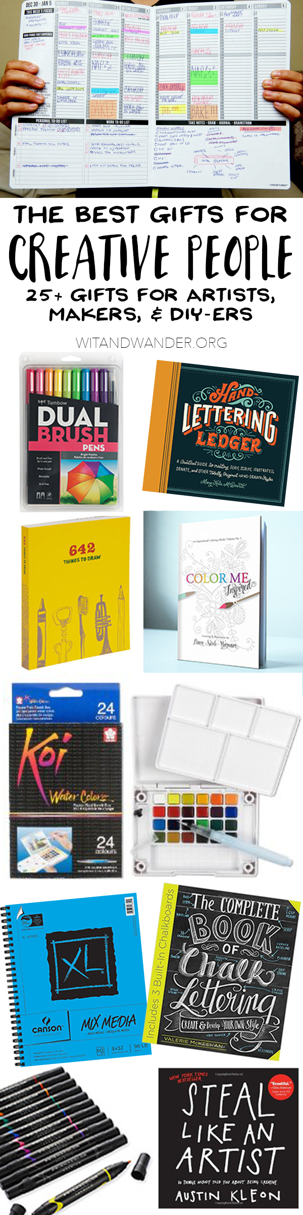 The Absolute Best Gifts For Creative People Artists Makers And Diyers Our Handcrafted Life