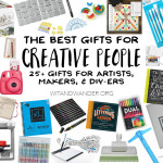 The Absolute Best Gifts for Creative People: Artists, Makers, and DIYers