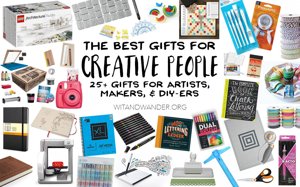 Best Gifts for Creative People - Headline - Wit & Wander