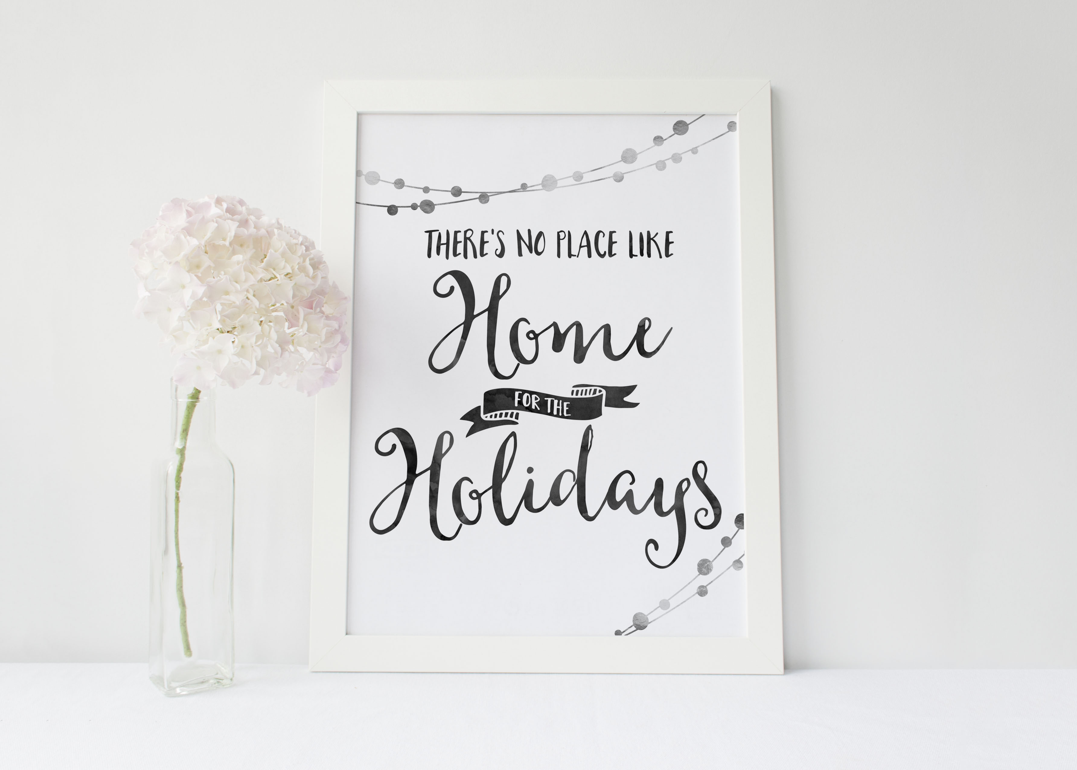 Free Printable Happy Holidays from Wit Wander