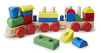 Stacking Train - The Ultimate Toddler Gift Guide | Wit & Wander