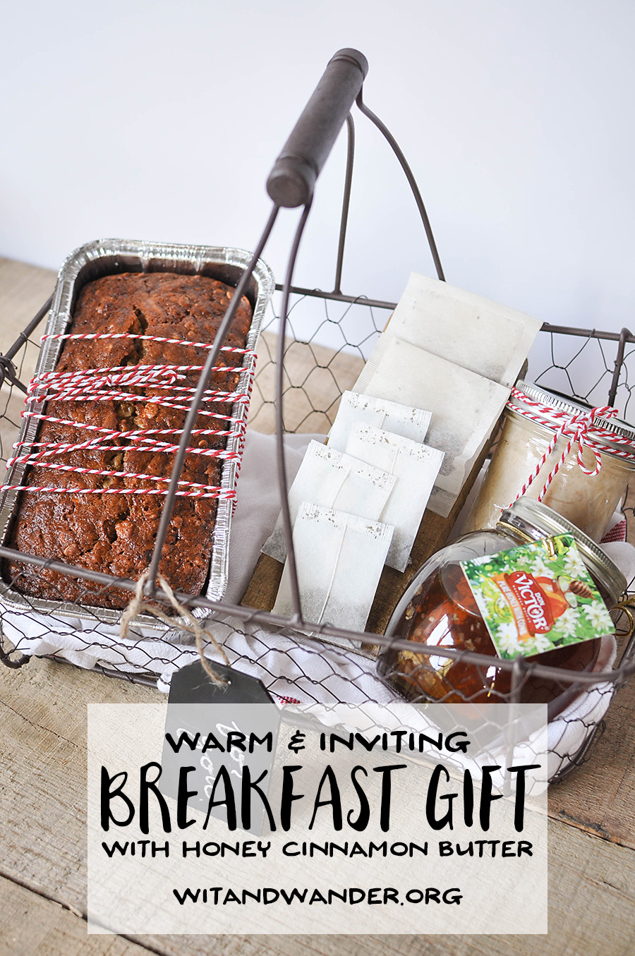 Warm Breakfast Basket Gift Idea - Our Handcrafted Life