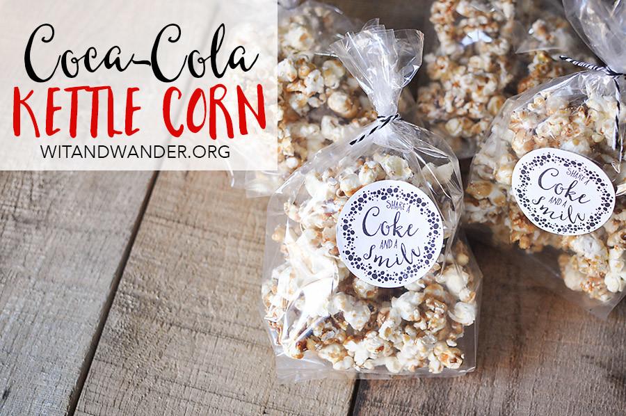 Coca-Cola Kettle Corn - Wit & Wander